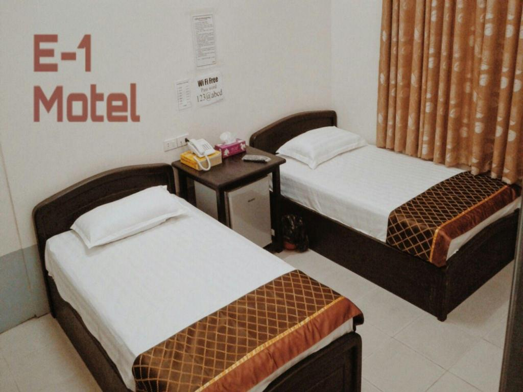 Standard Twin Room with Shared Bathroom E1 Motel