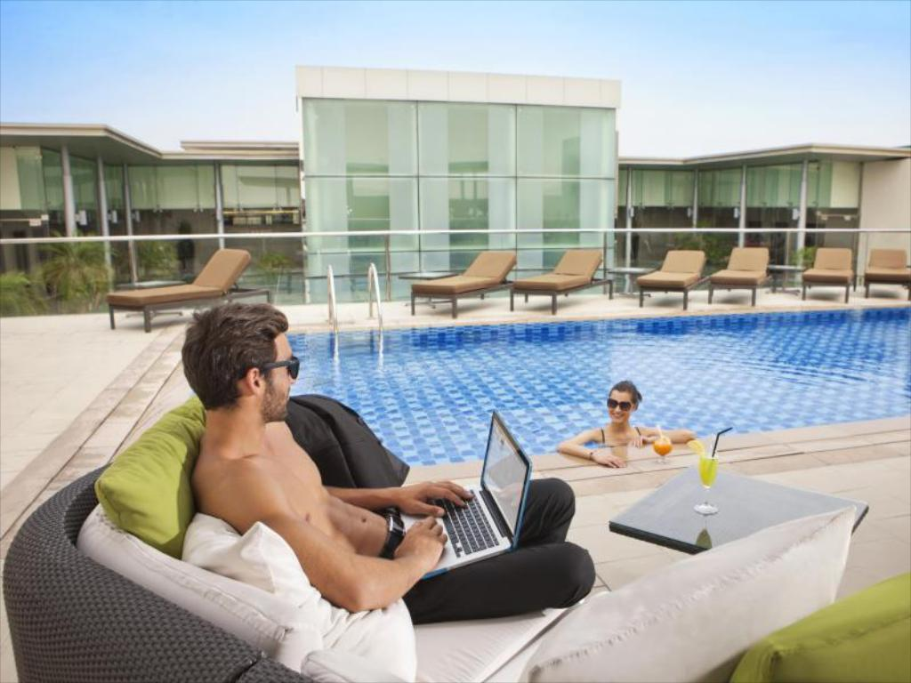 Best price on centro barsha dubai in dubai reviews for Dubai airport swimming pool price