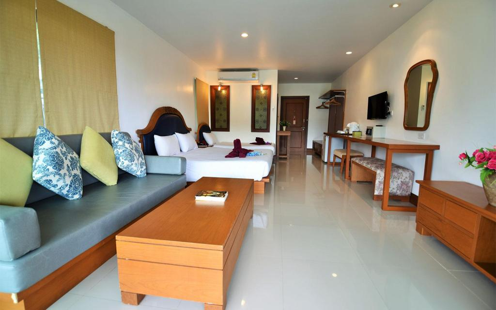 Family Ocean View - Bedroom