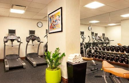 Fitness center Doubletree by Hilton Hotel New York Times Square South