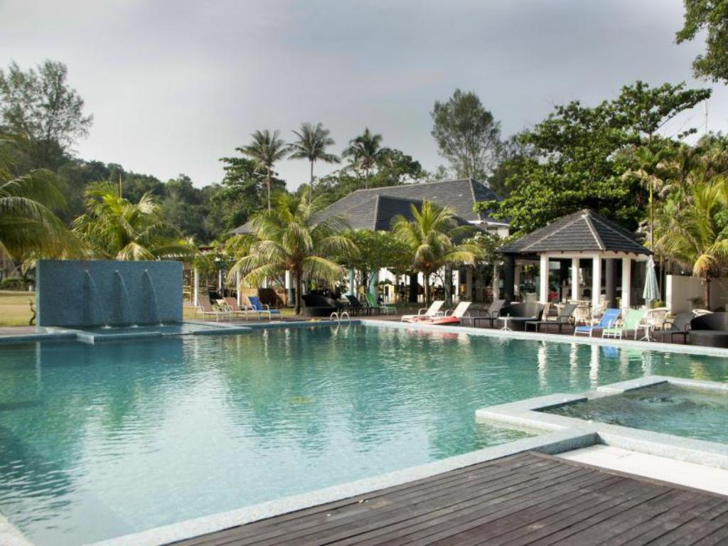 Swimming pool [outdoor] Sari Pacifica Resort & Spa, Sibu Johor