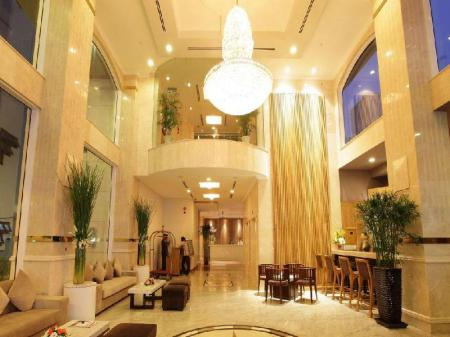 Lobby Golden Central Hotel Saigon