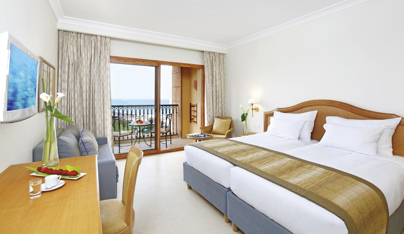 Classic Twin Δωμάτιο με Μερική Θέα στη Θάλασσα (Classic Partial Sea View Twin Room)