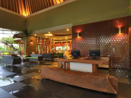 Lobby Abi Bali Luxury Resort and Villa