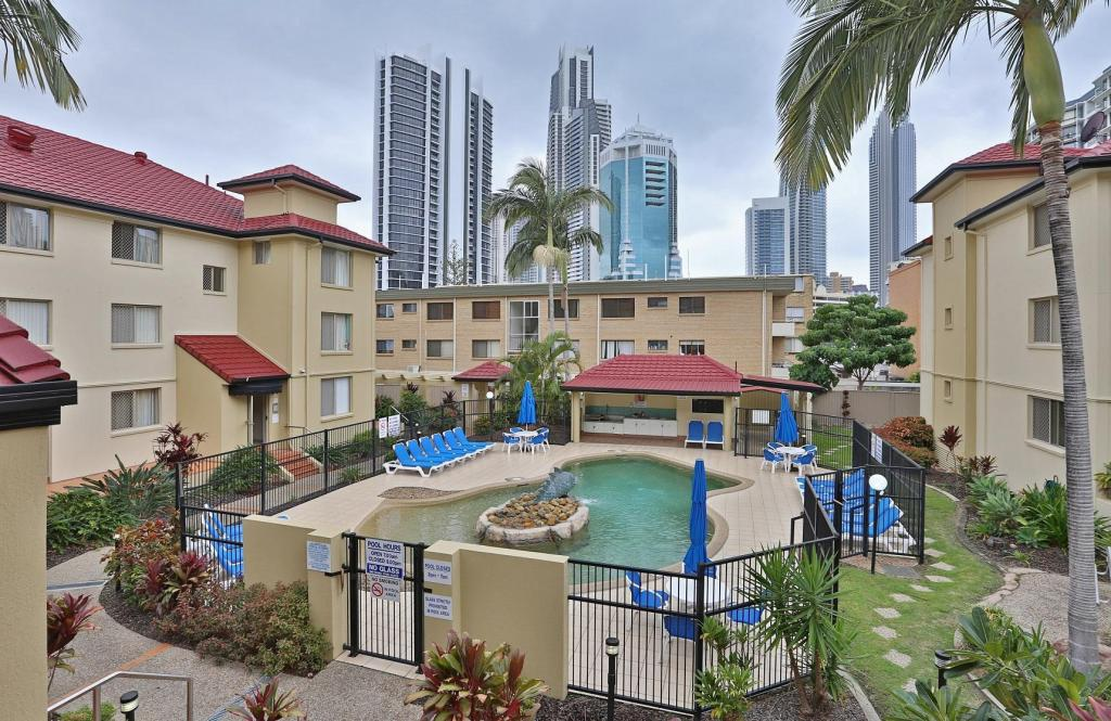 K resort apartments surfers paradise