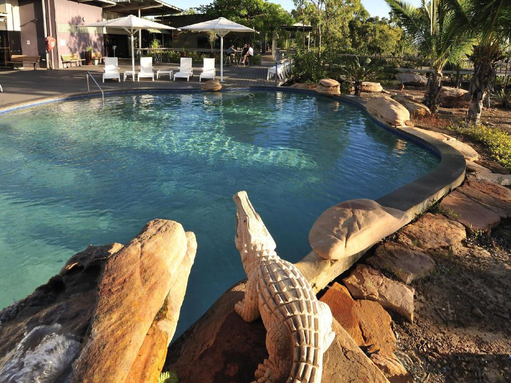 Swimming pool Groote Eylandt Lodge, managed by Metro Hotels