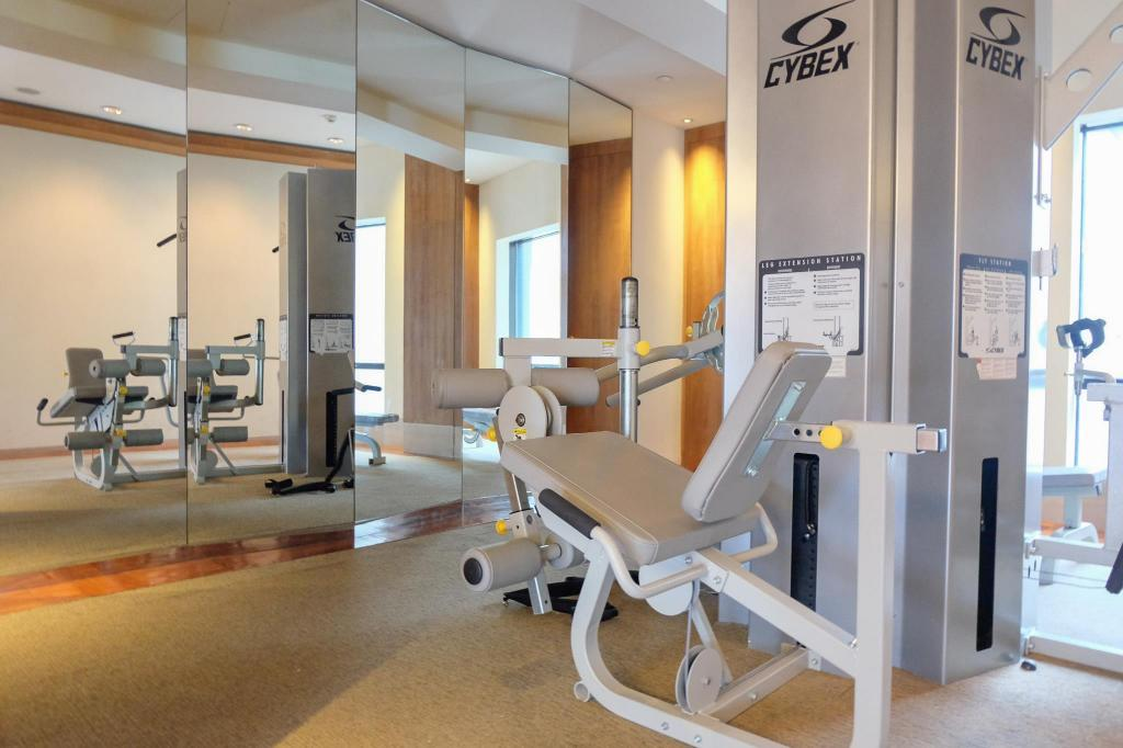 Fitness center Les Suites Orient Bund Shanghai