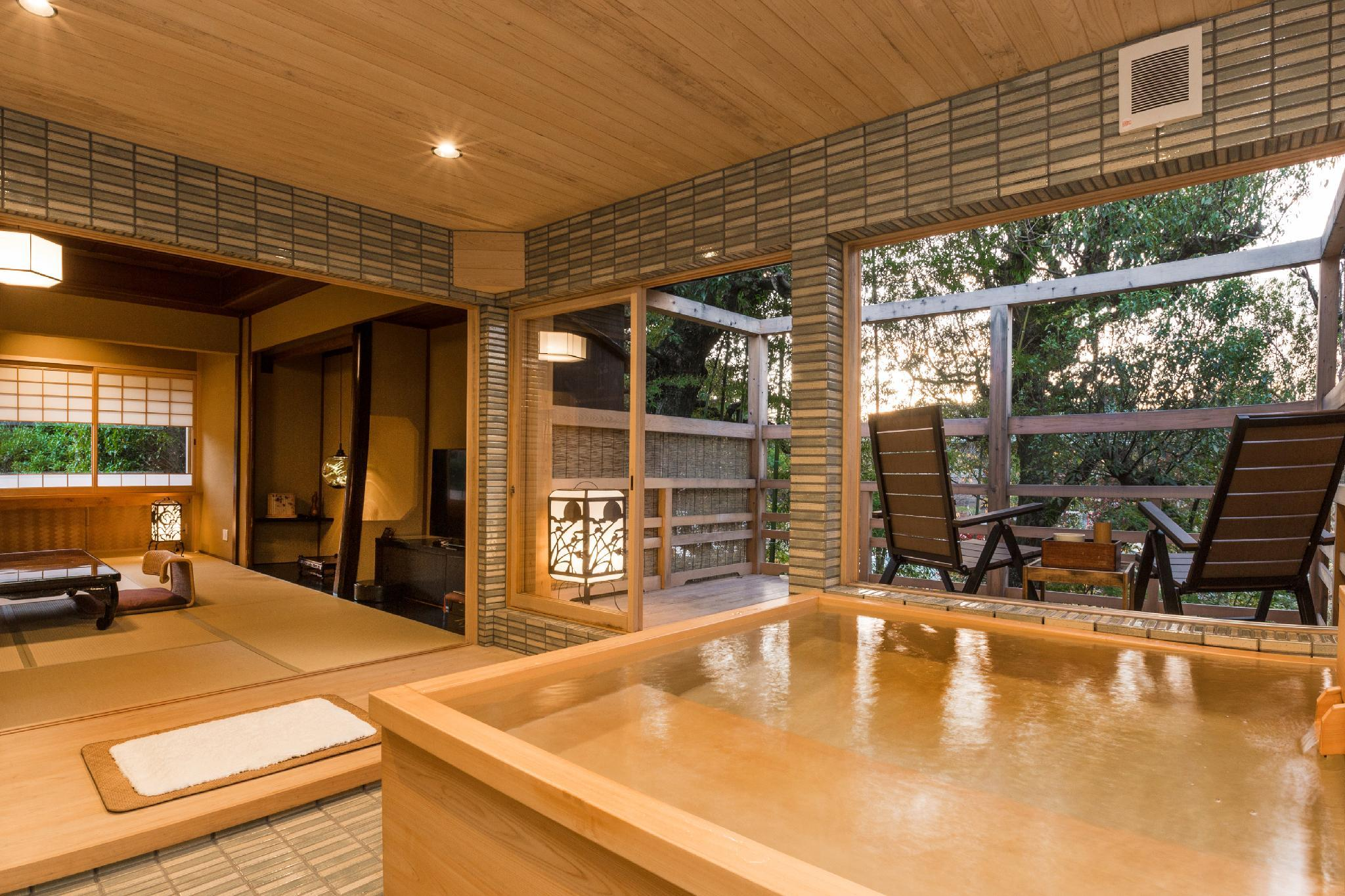 日式住宅套房 - 有私人小型露天浴池 (Japanese Style Residential Suite with Private Semi Open-Air Bath)