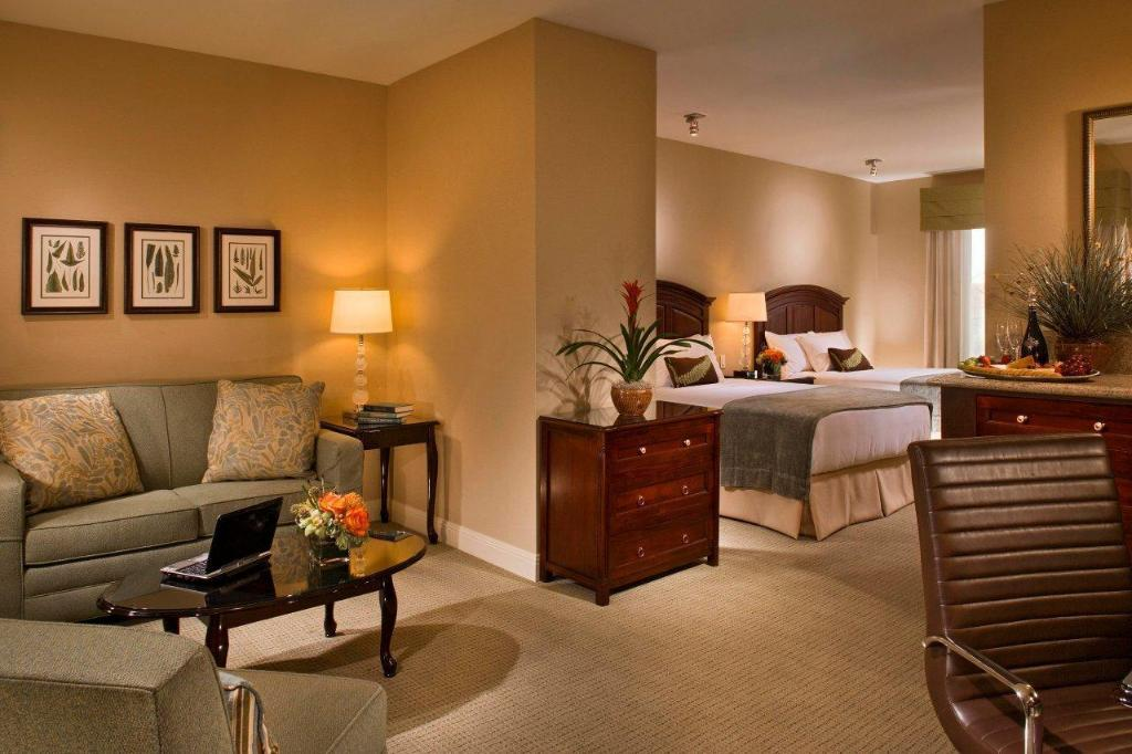 Two Queen Pillowtop Studio Suite - Guestroom Ayres Hotel & Spa Mission Viejo