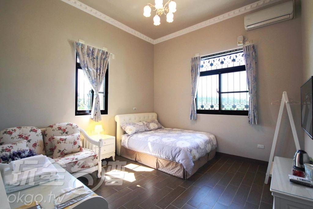 Standard Double Room - Room plan Shui Bu Zi Farmhouse