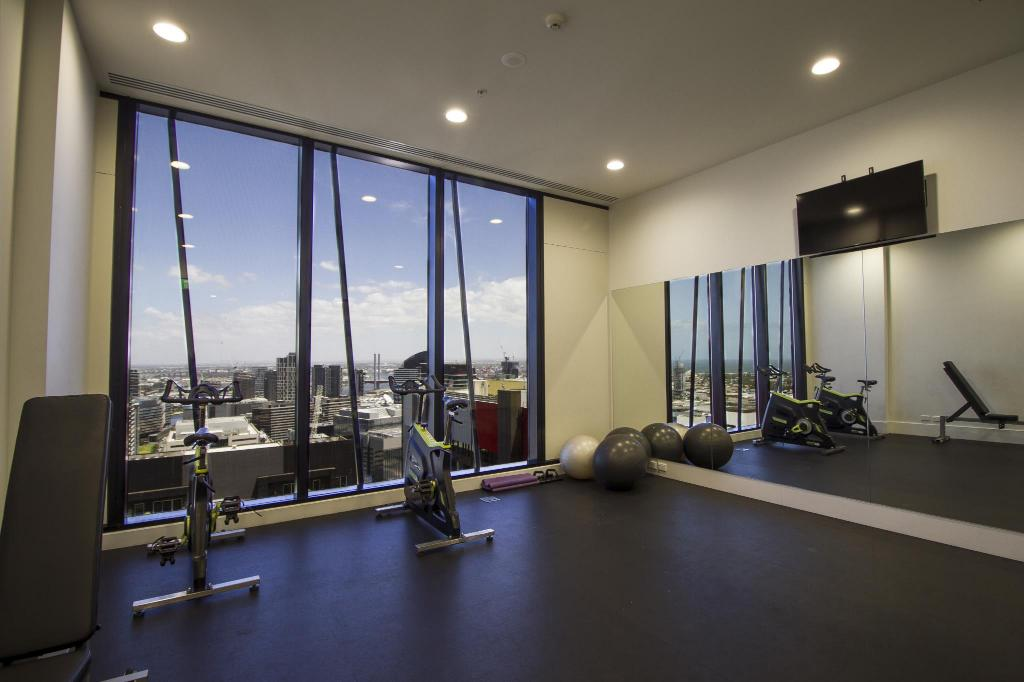fitness centrum Urban Modern Serviced Apartments