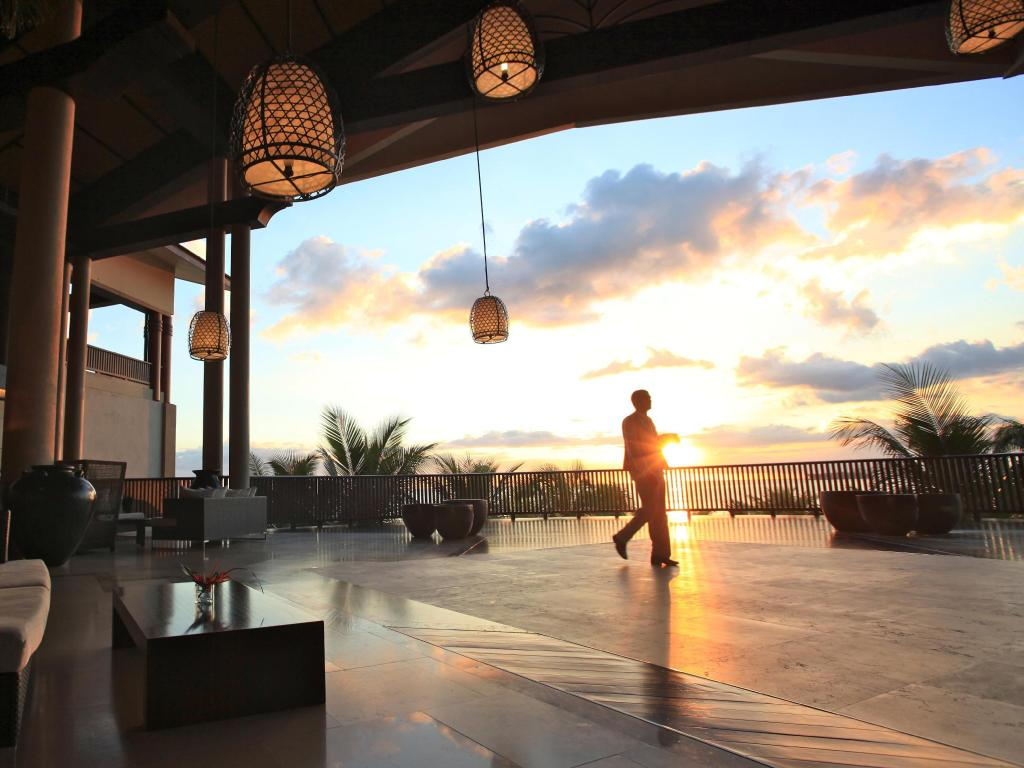 Lobby InterContinental Mauritius Resort Balaclava Fort