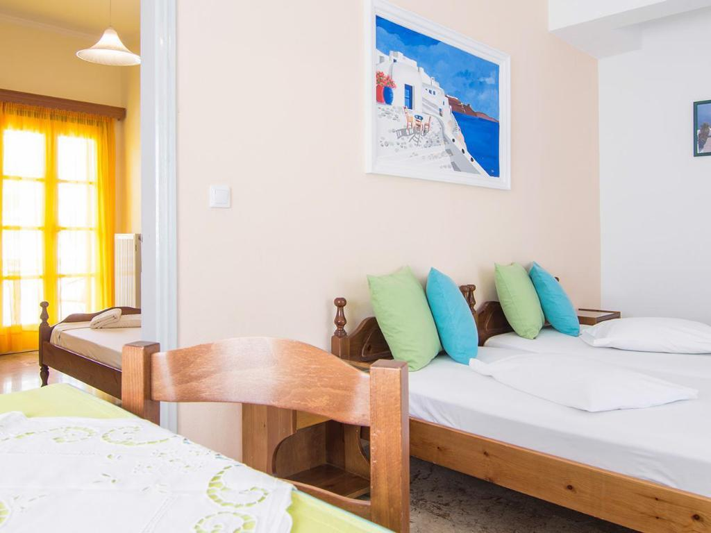 Hotellet indefra Holiday Beach Resort