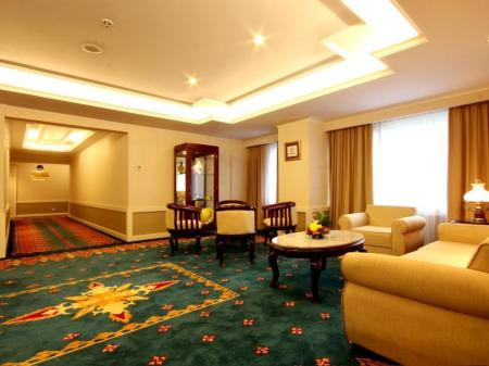 Interior view Kartika Chandra Hotel