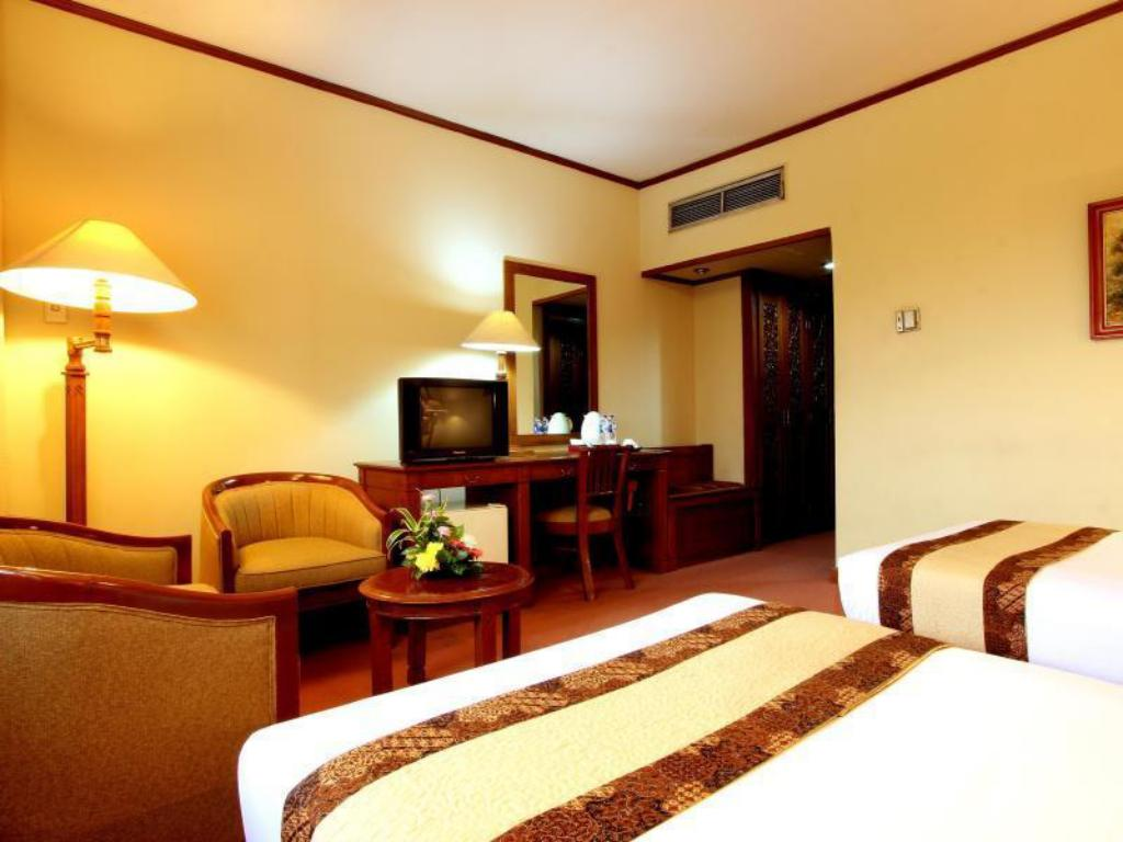 Superior - Room plan Kartika Chandra Hotel