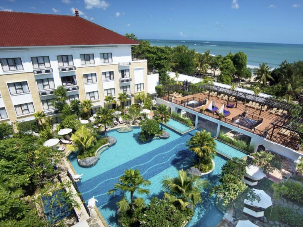 Best price on grand inna kuta in bali reviews for Kuta beach hotel