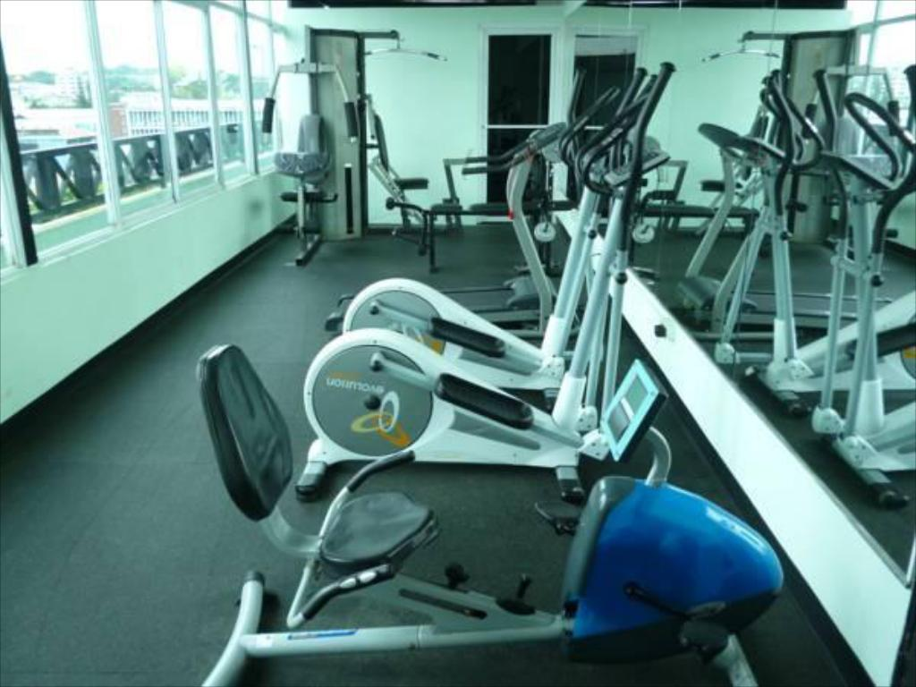 Fitness center Hotel Bahía Suites