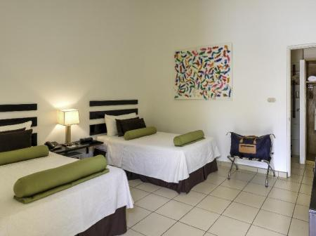 Garden View Room with 2 Twin Beds and Terrace seis playas hotel