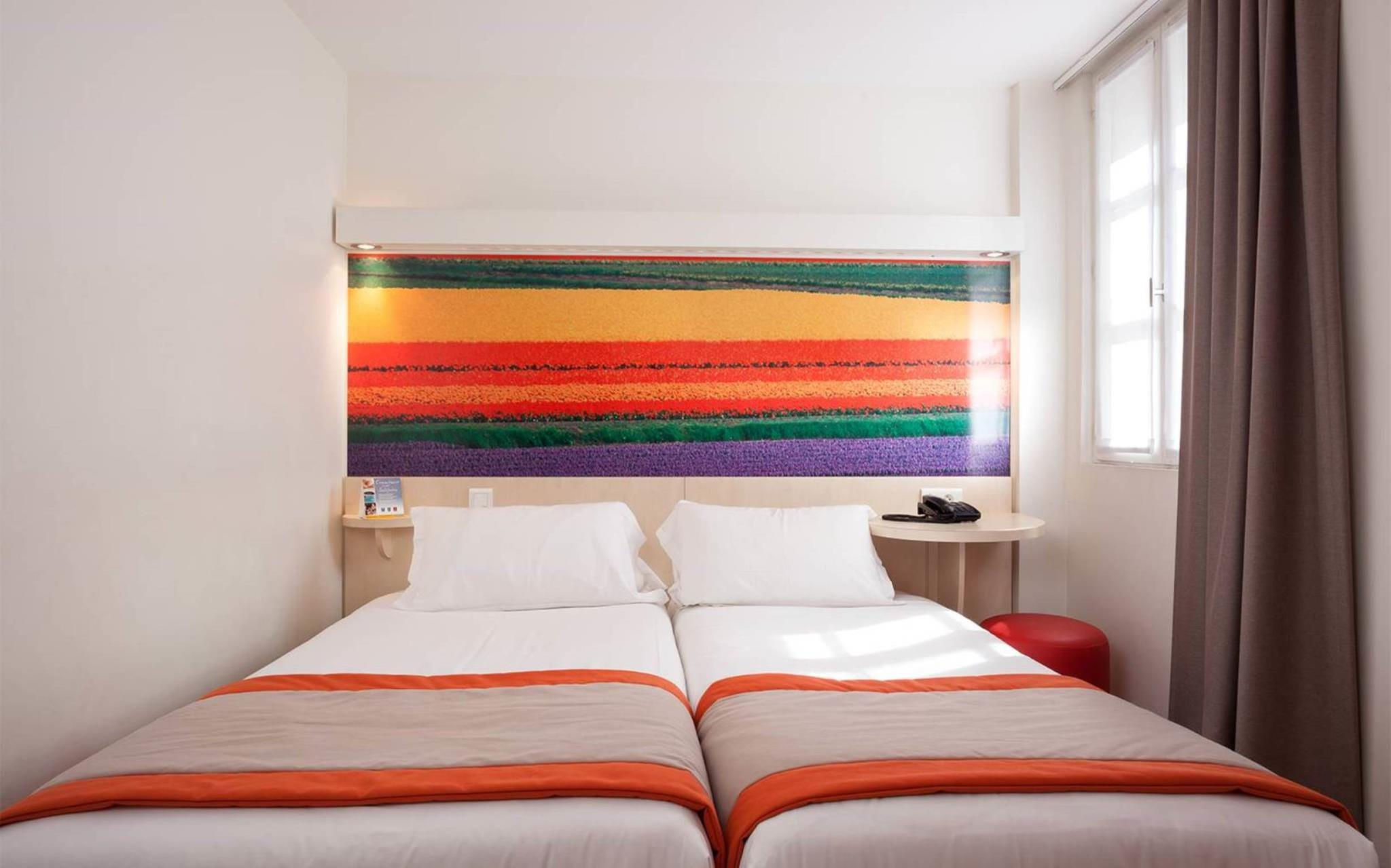 Con 2 camas individuales para 2 personas - No fumadores (2 Single Bed 2 People - Non-Smoking)