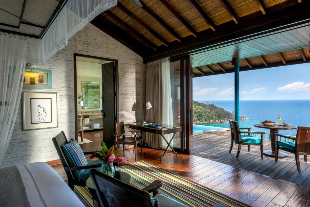 Hilltop Ocean View Villa with King Bed