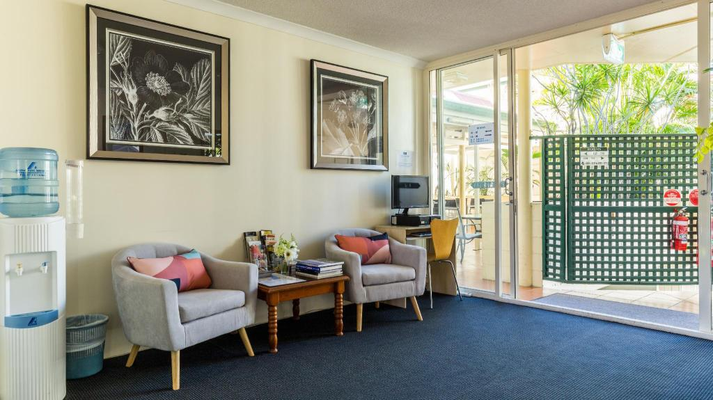 Lobby Toowong Central Motel Apartments