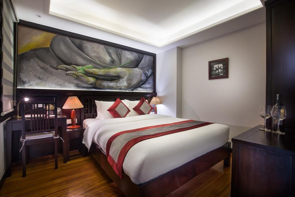 Superior Double Bed - Guestroom Golden Lotus Boutique Hotel