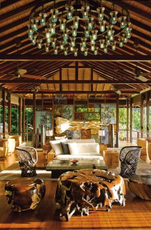 Lobby Four Seasons Resort Seychelles