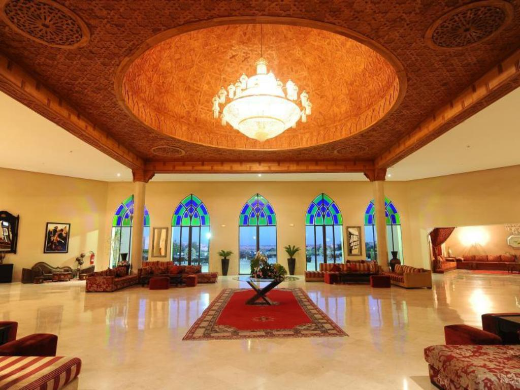 Lobby Blue Sea Hotel Marrakech Ryads Parc & Spa