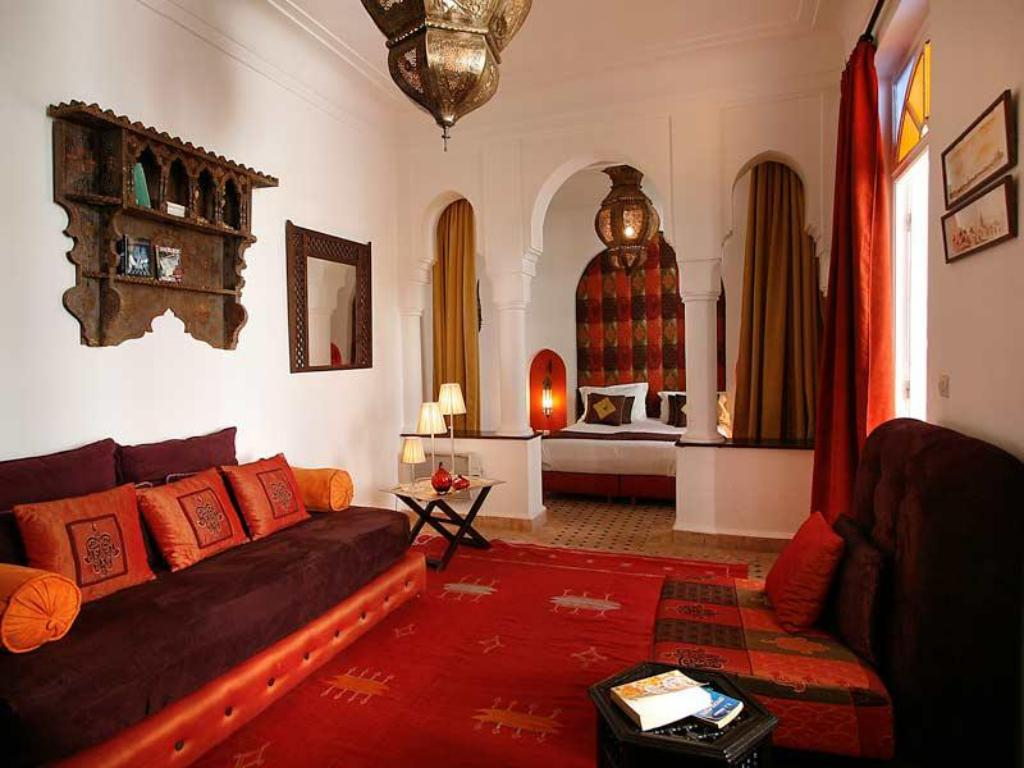 Interior view Riad La Maison Rouge