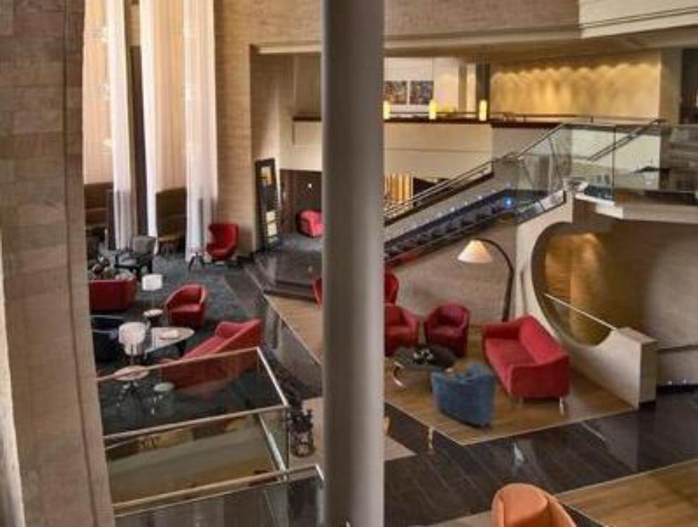 Interior view Tribe Hotel