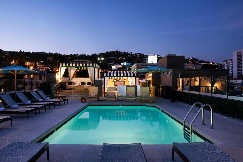 Swimming pool [outdoor] Chamberlain West Hollywood Hotel