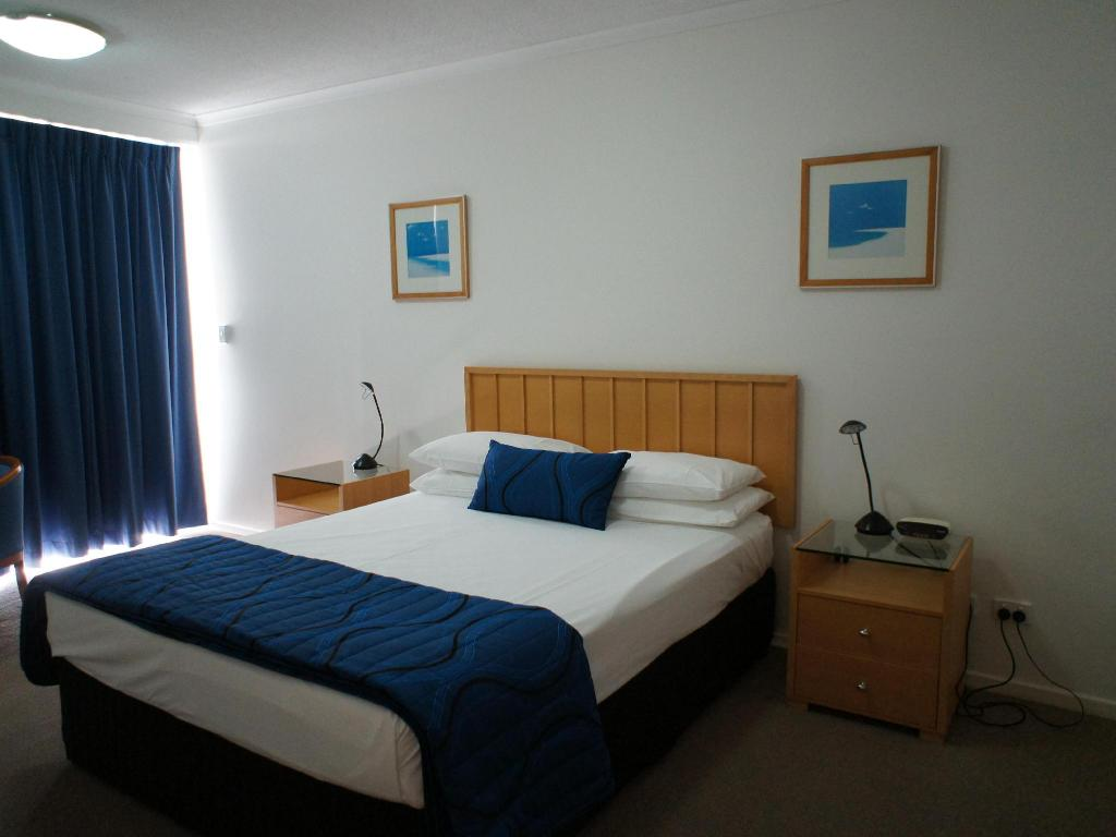 Interior view Kirra Beach Apartments