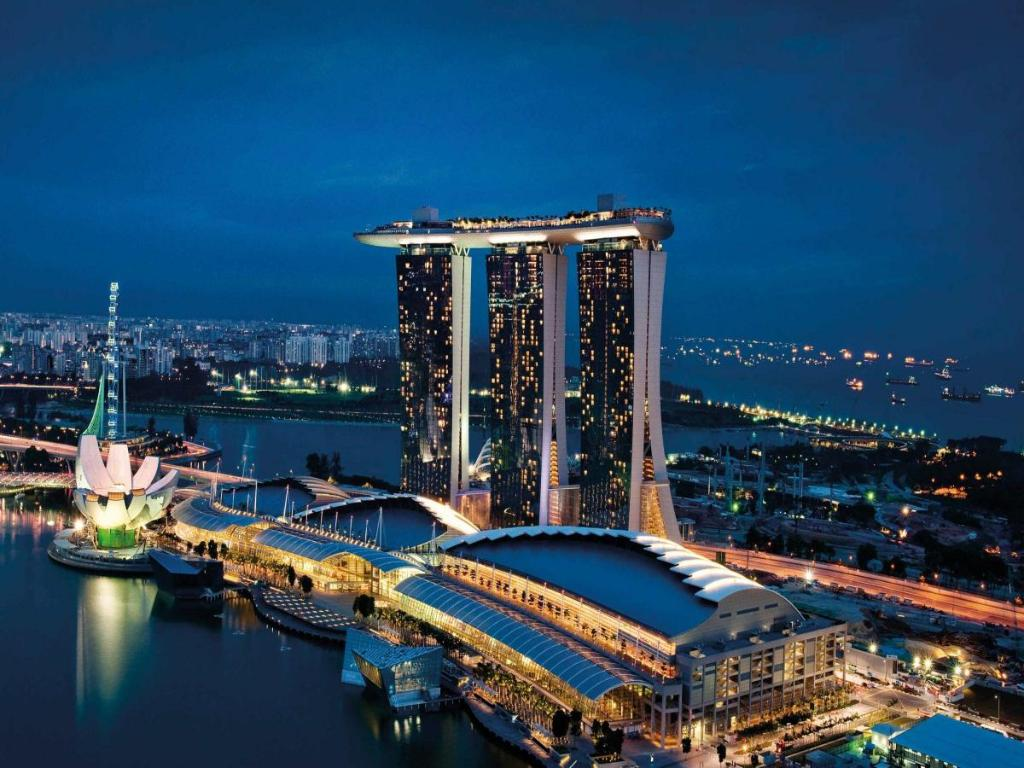Marina bay sands - Marina bay sands piscina ...
