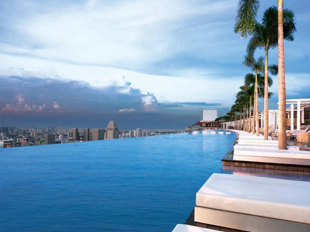 Best price on hotel marina bay sands in singapore singapore - Marina bay sands resort singapore swimming pool ...