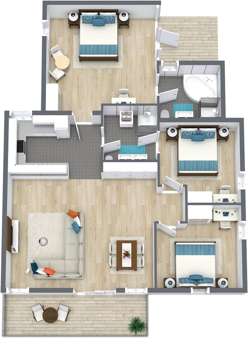 3-Bedroom Villa