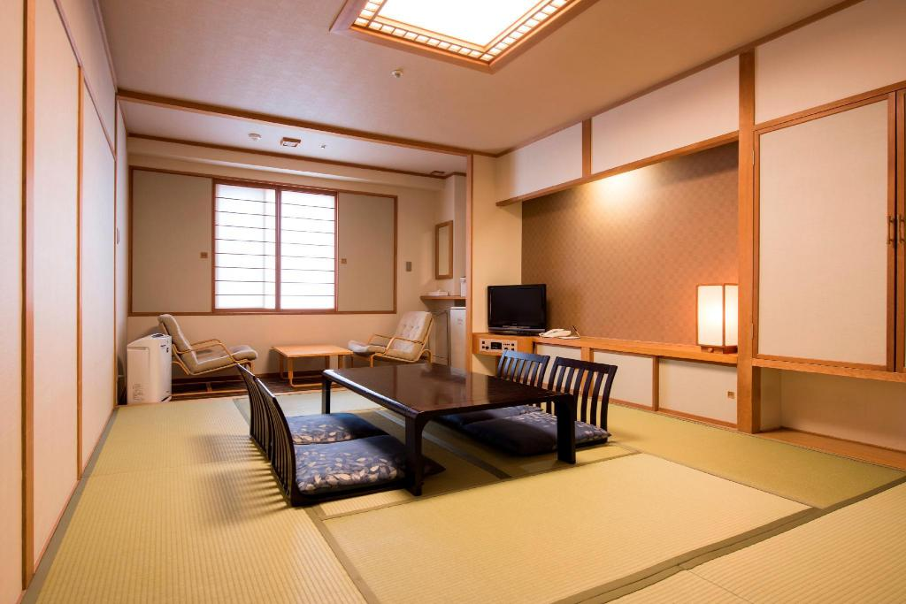 Japanese Style Room for 2 People - Room plan Rusutsu Resort Hotel & Convention