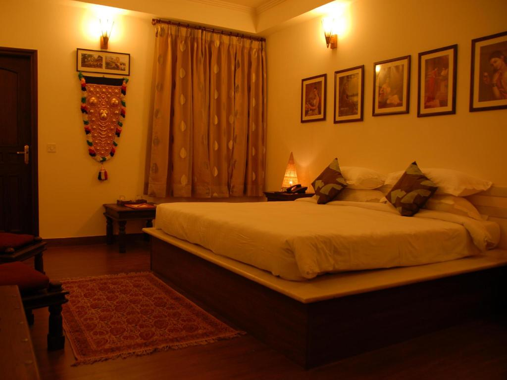 Deluxe Room - Bed Shanti Home