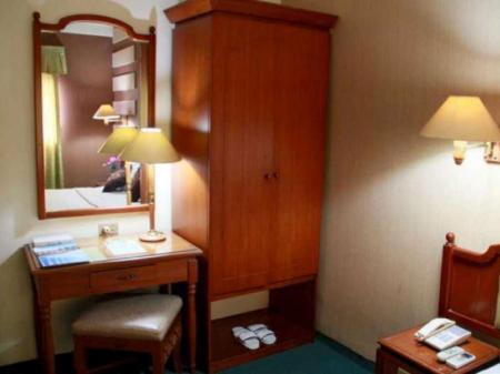 Business Double Bed Room Mega Matra Hotel