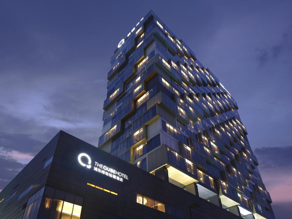 Vasca Da Bagno Qube : The qube hotel shanghai pudong shanghai affari imbattibili su