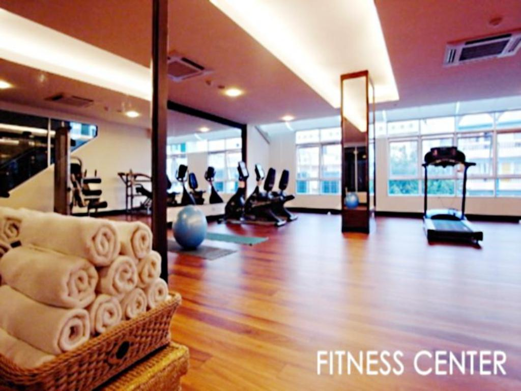 fitnesscenter August Suites Pattaya