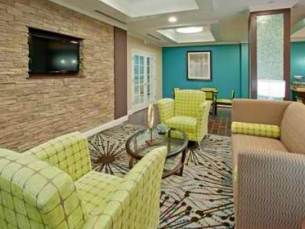 Empfangshalle Holiday Inn Express Rockport-Bay View