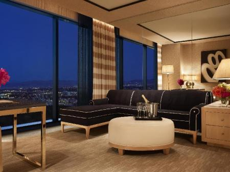 Panoramic Suite - Room plan Encore At Wynn Las Vegas