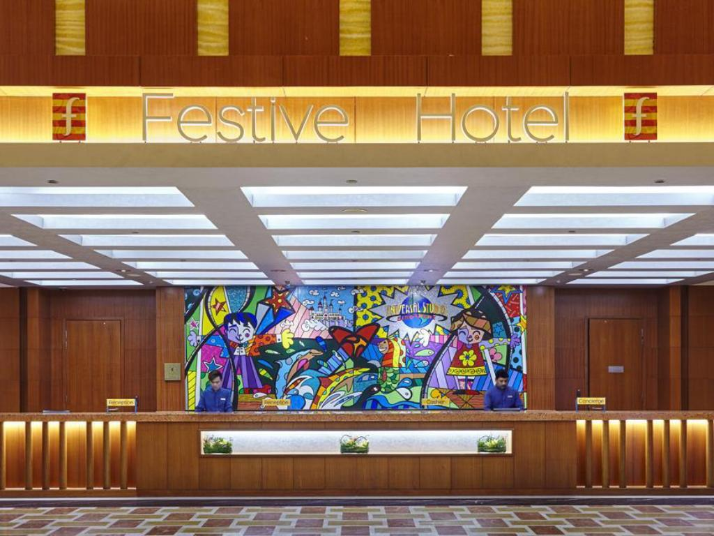 best price on resorts world sentosa - festive hotel in singapore +