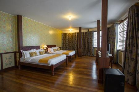 Large Superior  Room - Room plan Las Casas Filipinas de Acuzar Hotel