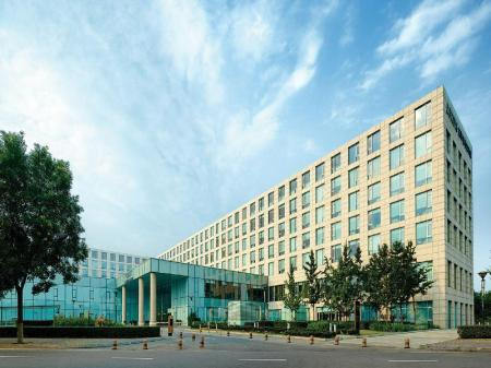 Entrance Cordis, Beijing Capital Airport By Langham Hospitality Group
