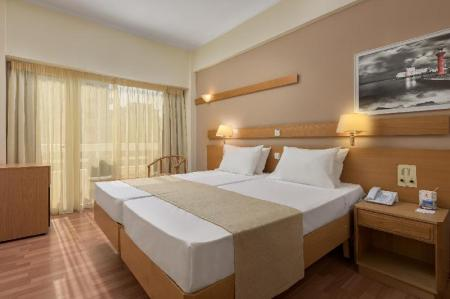 Double or Twin Room - Interior view Agla Hotel