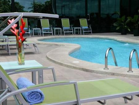 Swimming pool Hotel Ciudad de David