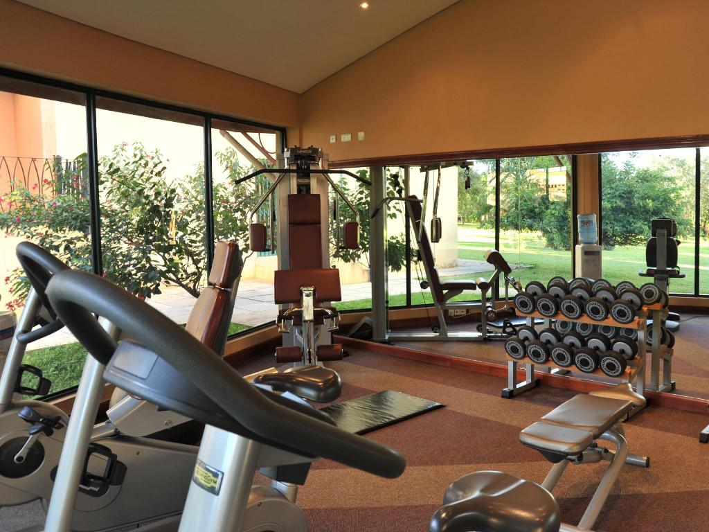 Fitness center Cresta Golfview Hotel