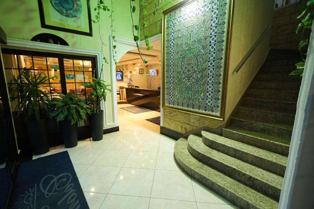 Lobby Best Western Hotel Colombe