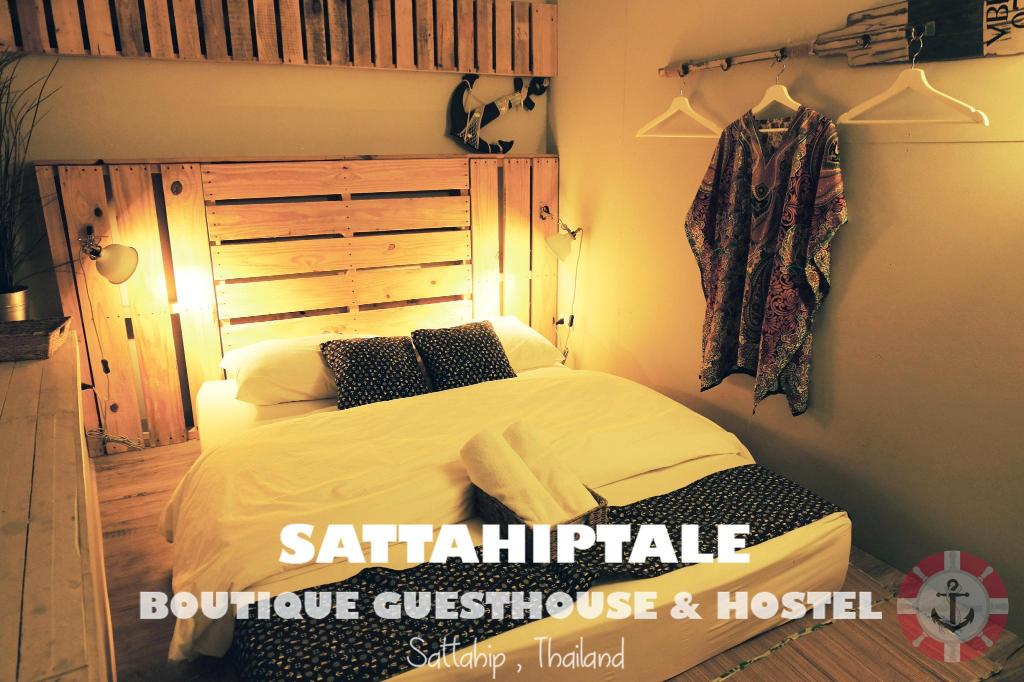Queen Shared Bathroom - Bed Sattahiptale Boutique Guesthouse & Hostel